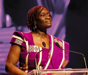 Theo Sowa during TED Talk
